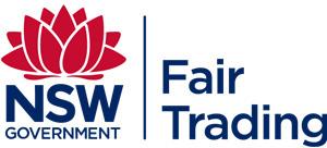NSW Government Fair Trading logo